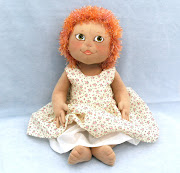 Because I designed the pattern with a doll/teddy shape, . (ginger girl baby )