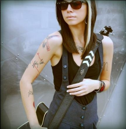 The Sexy of Christina Perri Tattoos Pictures | Best Tattoo ...