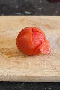 Ljuštenje rajčice