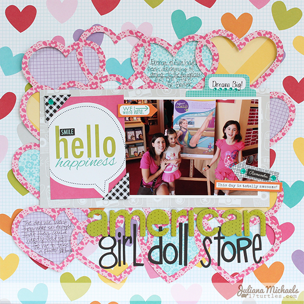 American Girl Doll Store Layout by Juliana Michaels #freedigitalcuttingfile #bellablvd