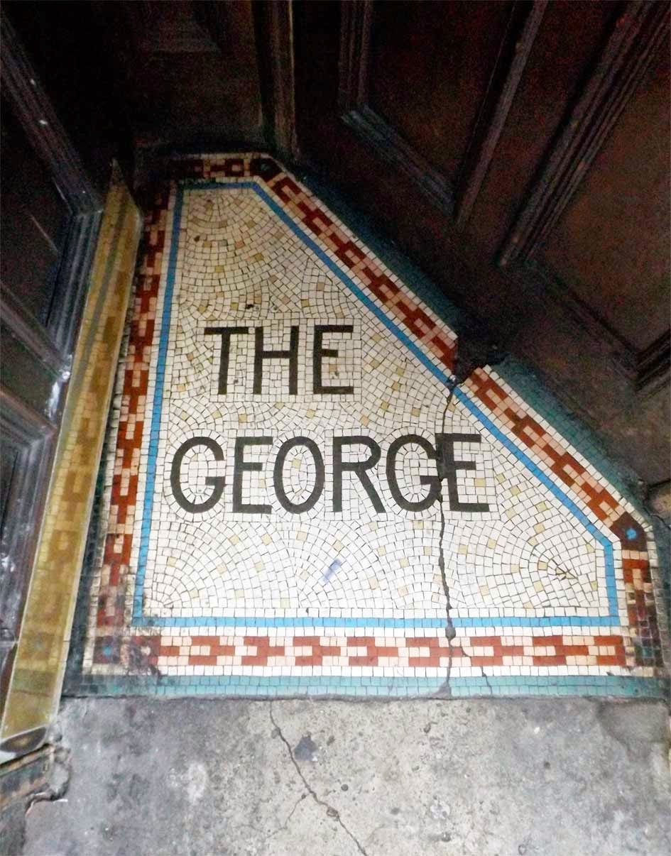 the george pub soho mosaic london