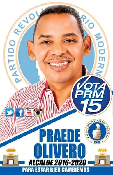 PRAEDE OLIVERO, ALCALDE BARAHONA 2016-2020