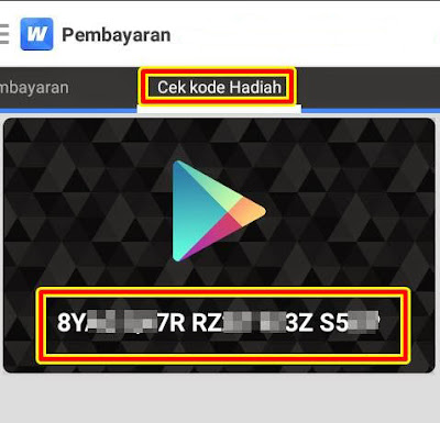 google play gift card dari whaff