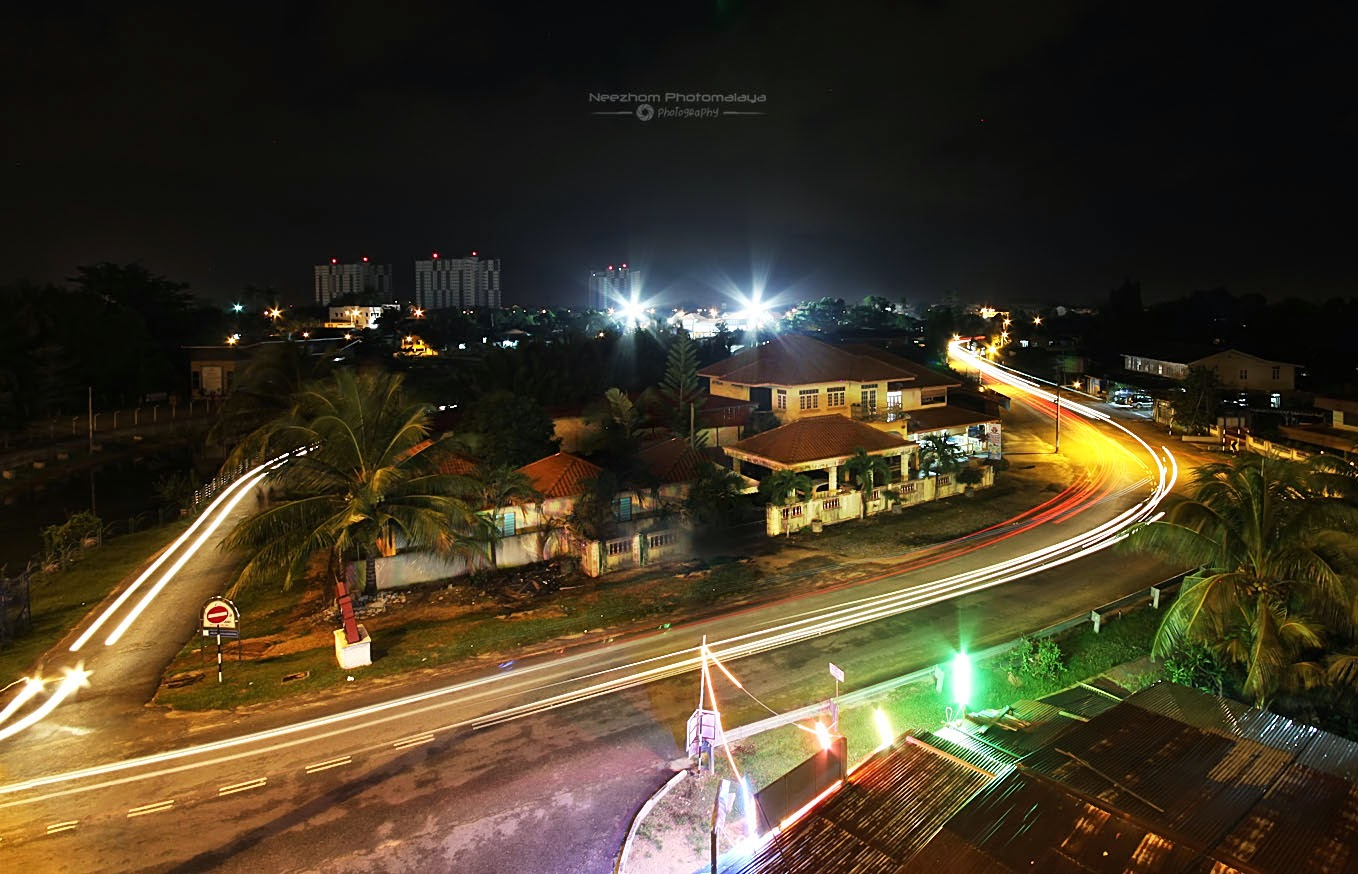 Light Trails Jalan Losong