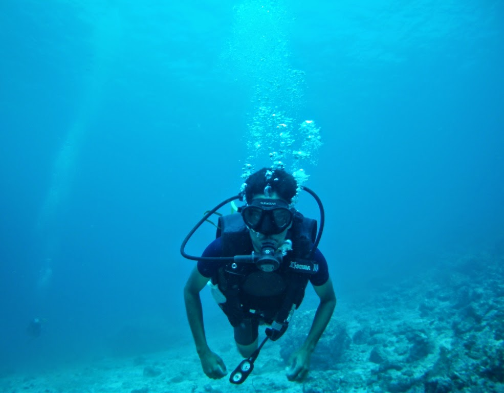 Scuba diving in andaman, information about diving in andaman