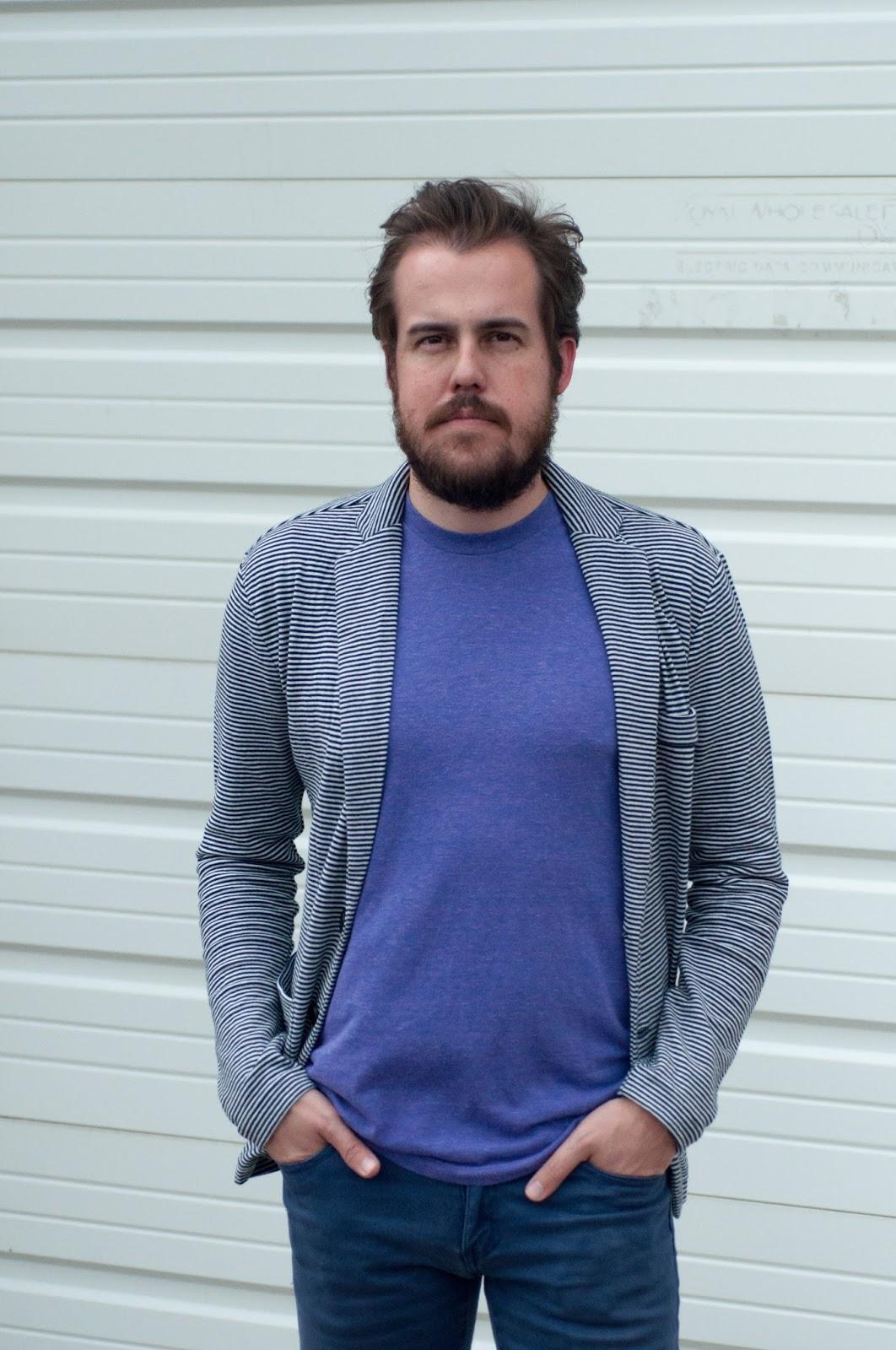mens style, mens fashion, ootd, mens fashion blog, zara men, striped blazer