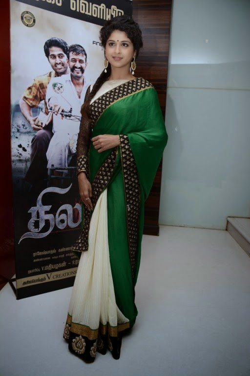Actress Mrudula Baskar at Thilagar Audio Launch Stills