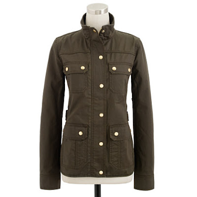 J.Crew Downtown Field Jacket, Spring 2013, military jacket