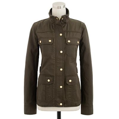 J.Crew Downtown Field Jacket, Spring 2013, military jacket