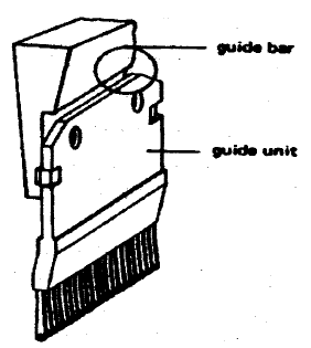 Guides and Guide Bars