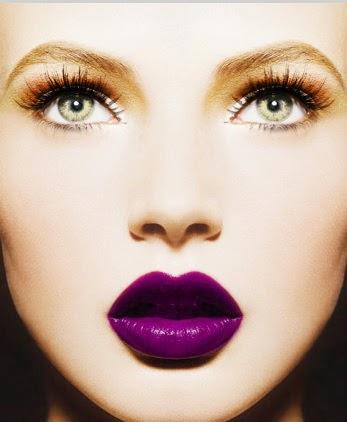 PURPLE LIPS? - Absolutely Yes Katharine-fashion is beautiful