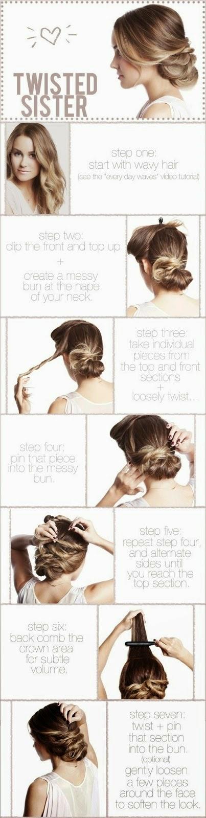 Cara mengikat rambut panjang yang cantik