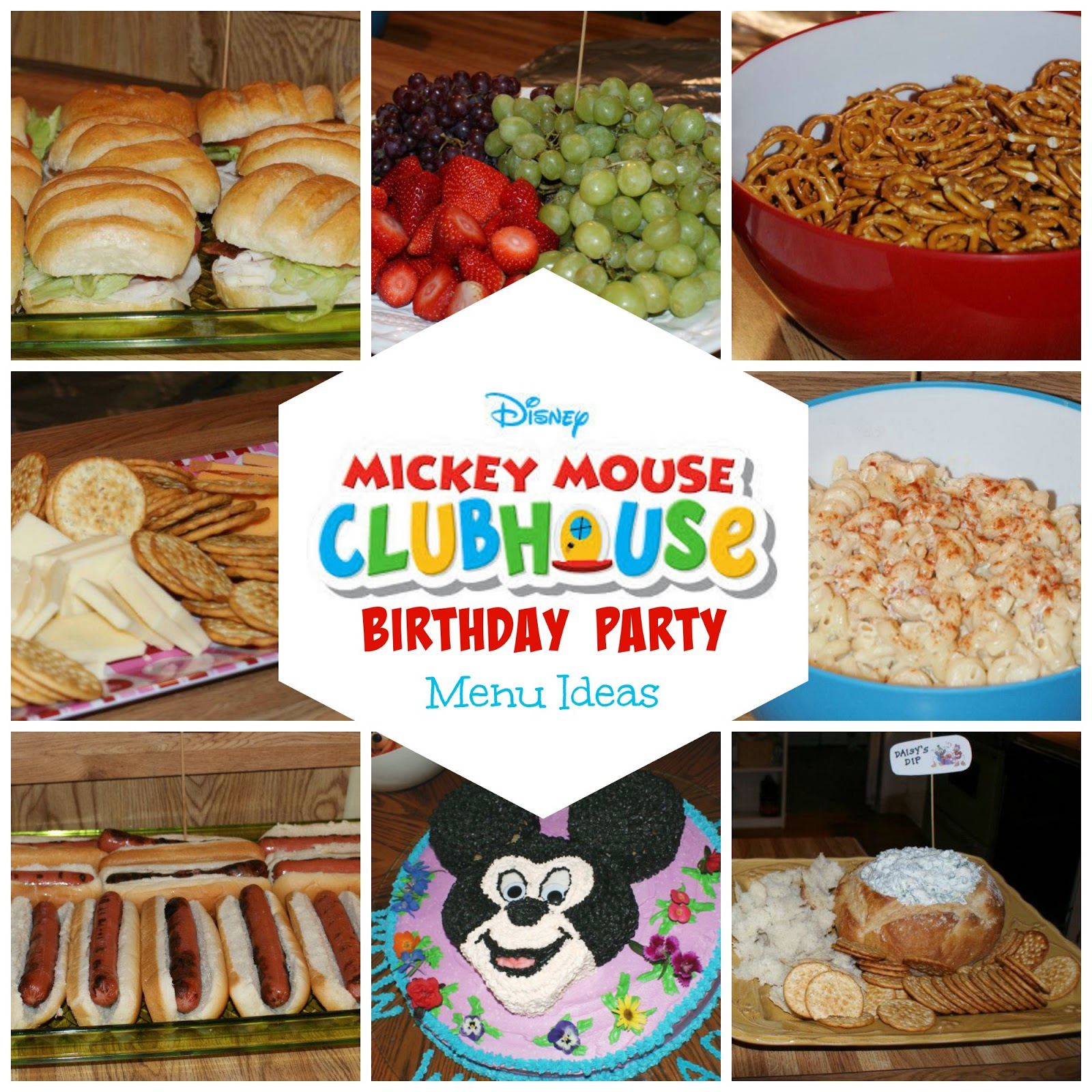 Birthday Party Dinner Menu Ideas Part - 24: 8 Mickey Mouse Birthday Party Menu Ideas