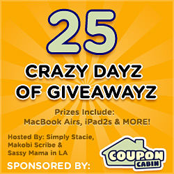 25 Crazy Dayz of Giveawayz