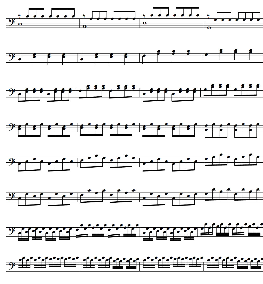 17 making an accompaniment left hand patterns part i piano standard accompaniment in major key part 2 hexwebz Gallery
