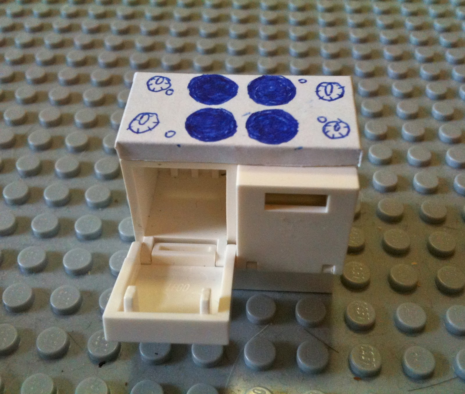 how to build a lego oven