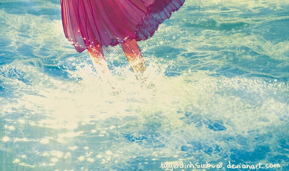 La niña que salió en busca del mar, fantasía, LIJ
