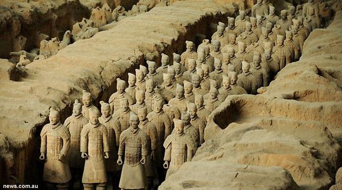 Misteri Istana Kaisar Pertama Cina Mengunkap Semua Misteri Mahkluk