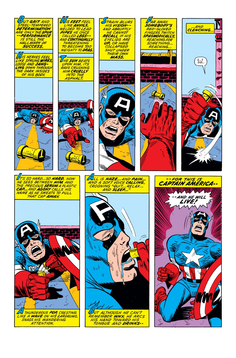 Captain America (1968) Issue #158 #72 - English 4