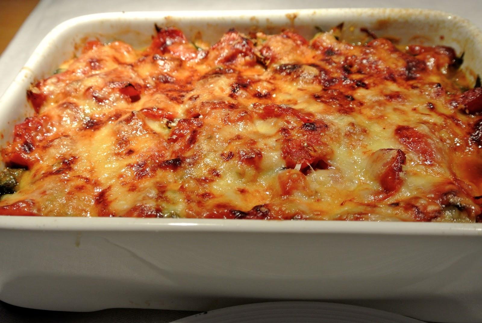 bonjour alsace mangold oder spinat gratin mit tomaten f r akute essnotlagen. Black Bedroom Furniture Sets. Home Design Ideas
