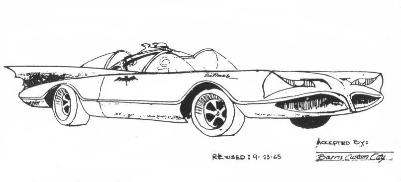 The Dork Review: Rob's Room: Batmobile Blueprints & Schematics (mostly