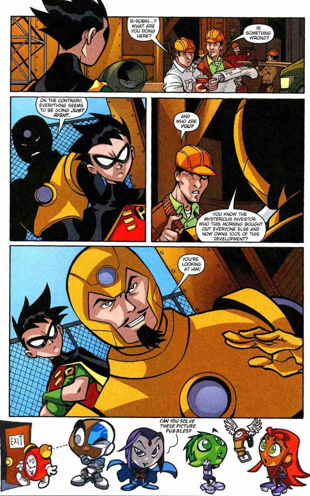 teen titans comic books