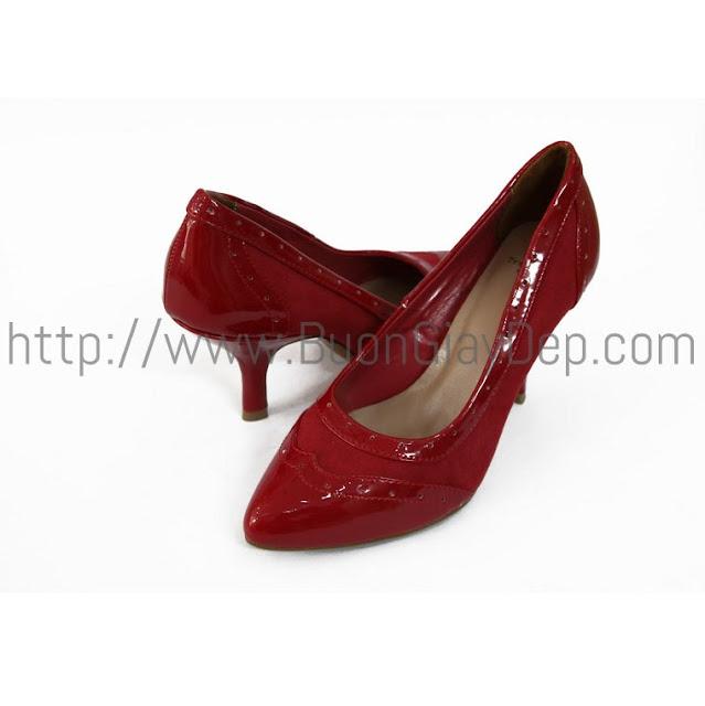 Bán sỉ giày dép nữ XK ở Hà Nội, bít mũi Trafaluc