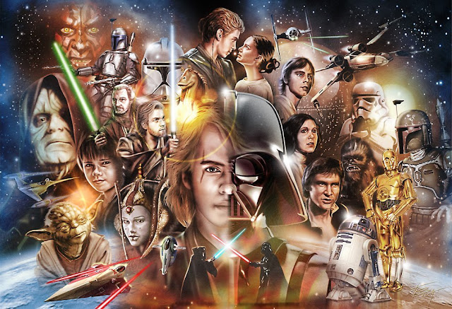 VIDEO: The History of STAR WARS