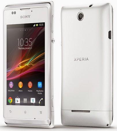 Sony Xperia E Smartphone Android Murah Rp 1 Jutaan