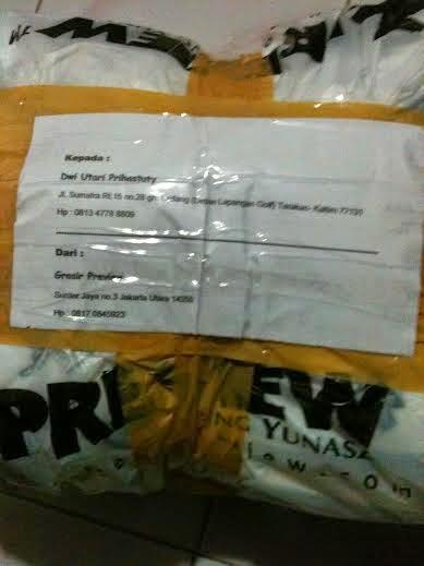 Paket koko ke Tarakan