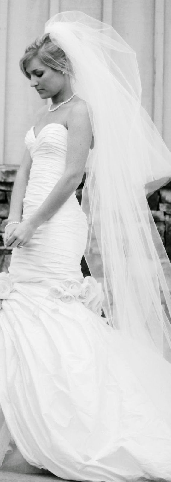 Wedding Veil Voluminous