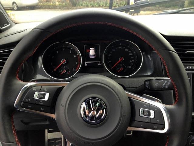 VW Golf GTI 2014 - interior