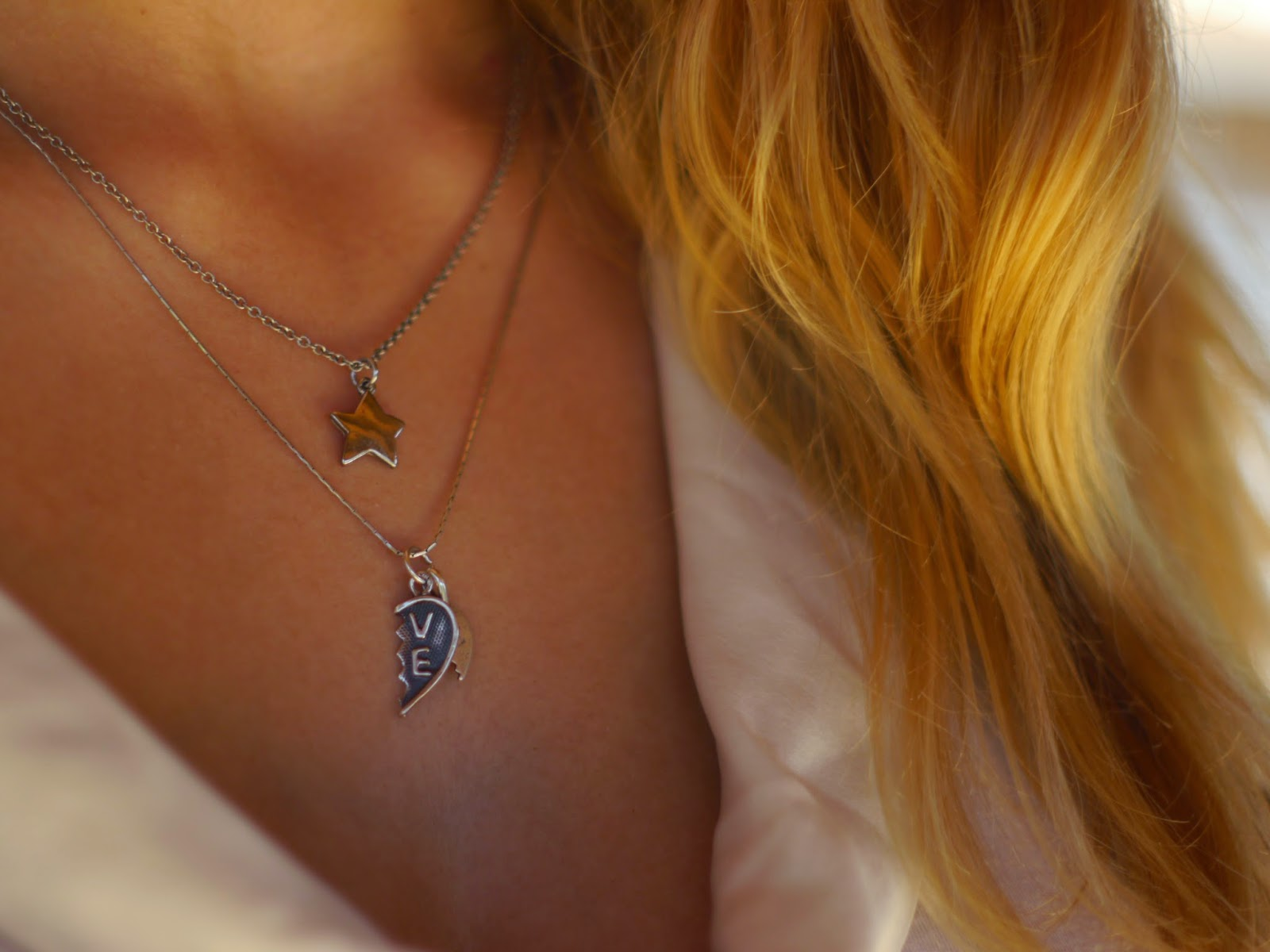 forever21 star necklace