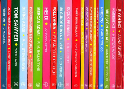 Türkiye iş bankası yayınları çocuk klasikleri