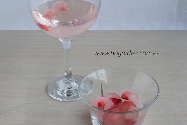 Cubitos de hielo de sabores