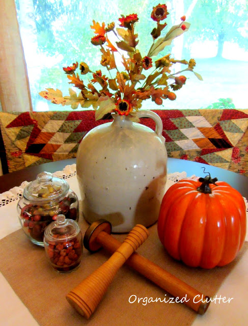 Fall Dining Table Display