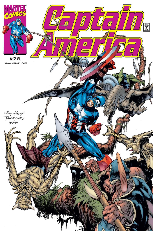 Captain America (1998) Issue #28 #34 - English 1