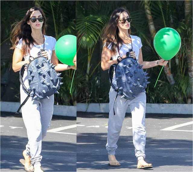 Megan Fox with Horny Bag & Happy Pants