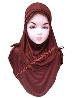 jilbab warna pramuka