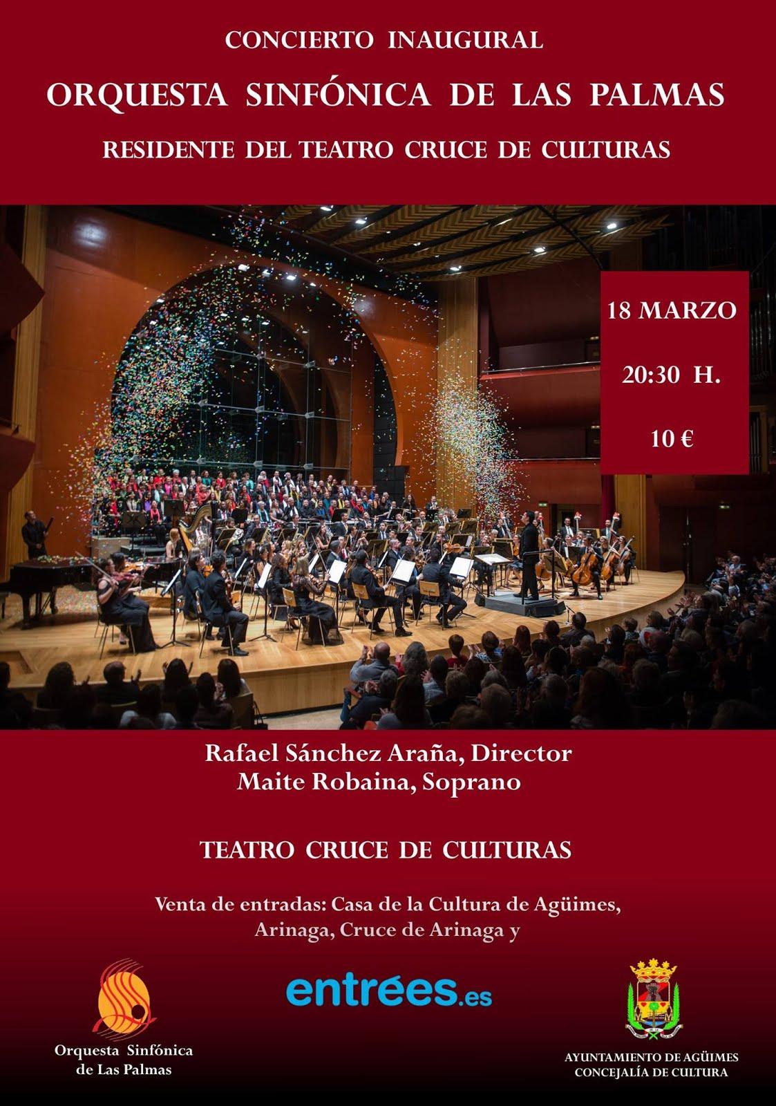 Orquesta Sinfónica de Las Palmas Residente del Teatro Cruce de Culturas