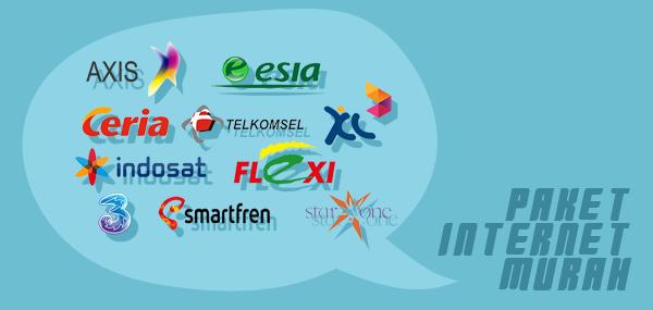 Paket Internet Termurah Untuk Smartphone dan Modem