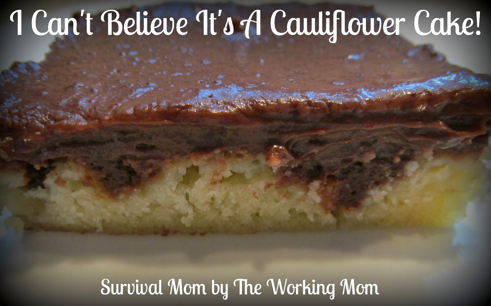 Cauliflower & Chocolate Cake Recipe - Guide For Moms