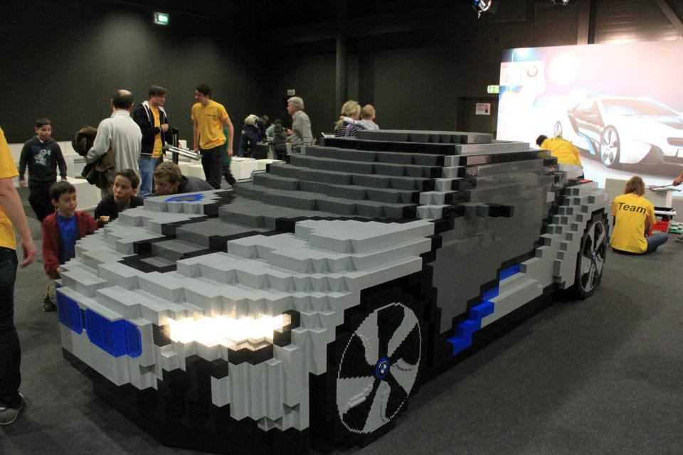 La Bmw I8 En Lego Dr 244 Le De Geek