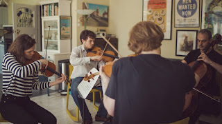 Michael Gurevich, violin Beatrice Philips, violin Timothy Ridout, viola Pierre Doumenge, cello - photo Anna Patarakina