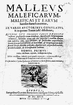 Edição de Malleus Maleficarum de 1669