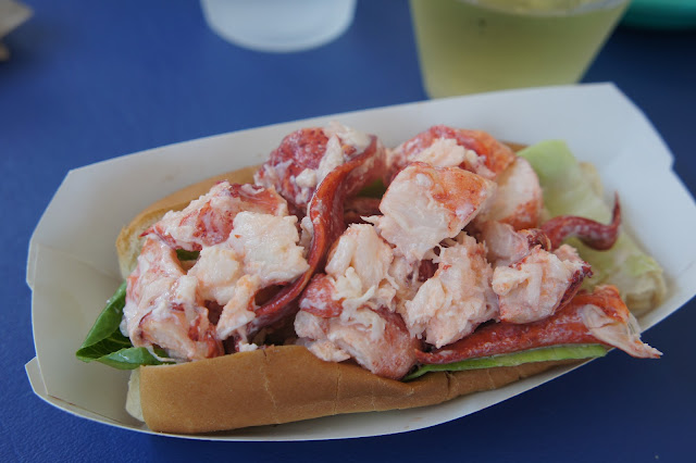 Lobster roll from Arnold's