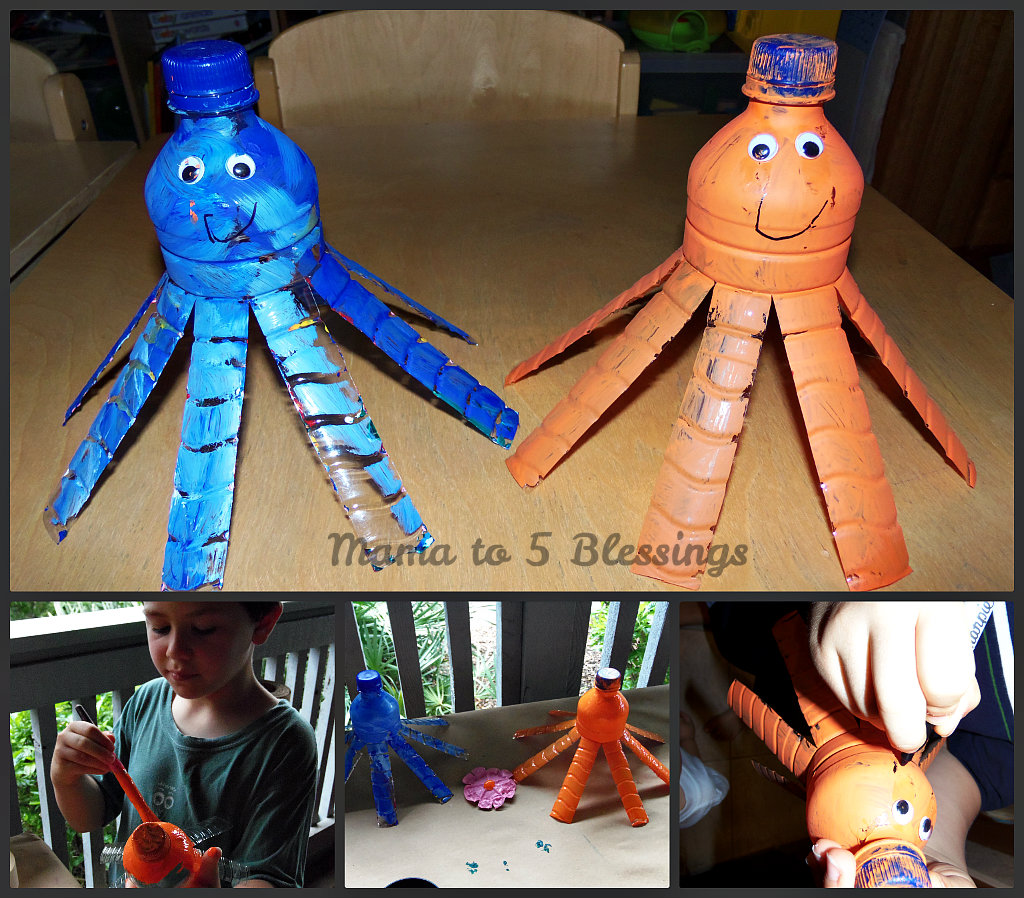Water Bottle Projects: LEARN & LINK WITH LINKY