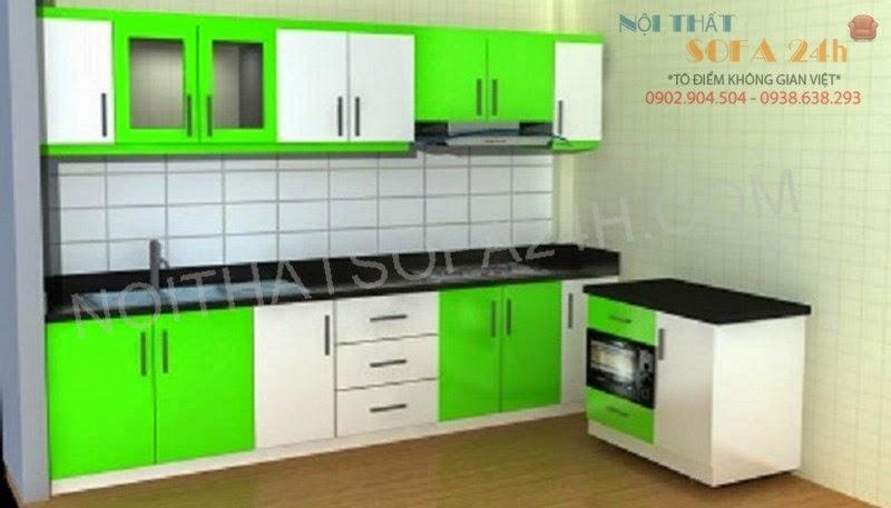 Tủ bếp TB078
