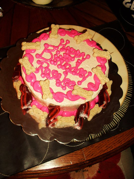 Brandis Sweets Dog Friendly Birthday Cake
