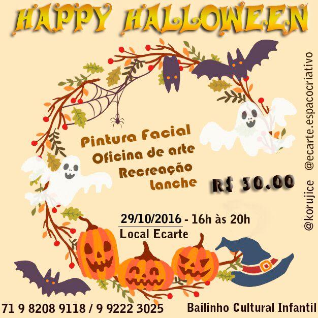 Bailinho de Halloween